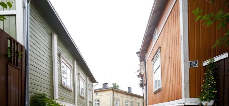 Vanha Rauma, mukulakivi