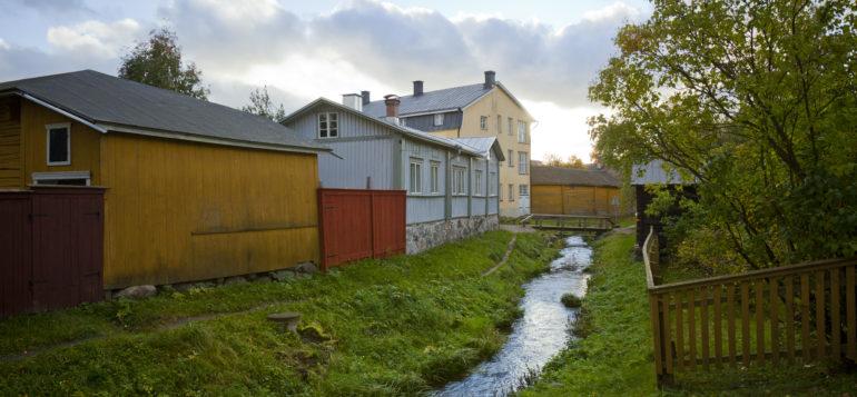 Vanha Rauma, syksy, Rauman Kanali