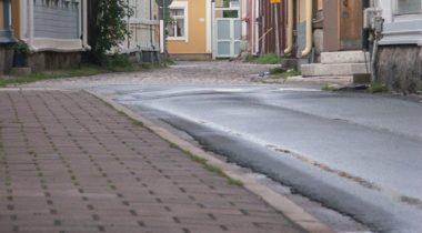 Katukivetystä Vanhassa Raumassa