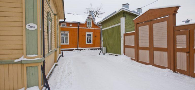 Luminen katu Vanhassa Raumassa