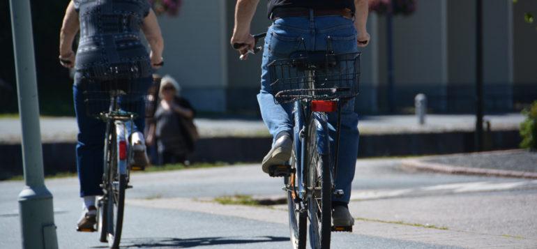 pyöräily, liikenne, liikunta, kesä
