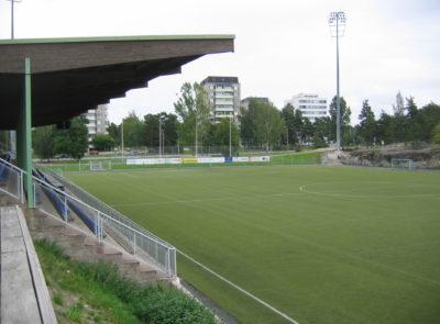 Äijänsuon jalkapallostadion.