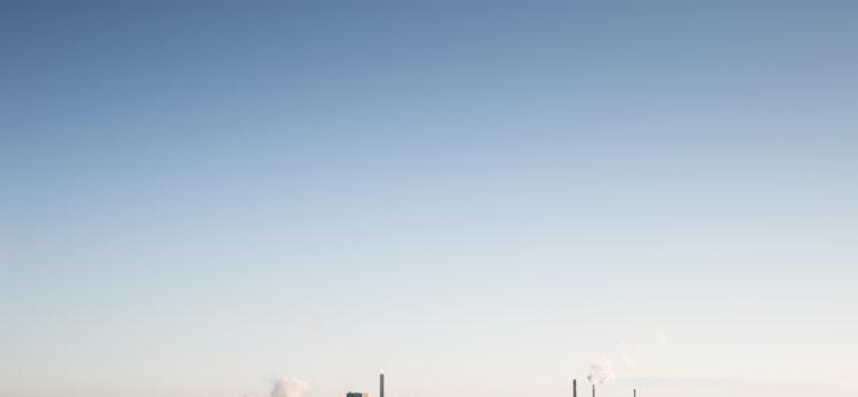 teollisuus, taivas