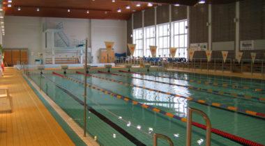 Rauman uimahalli sisältä