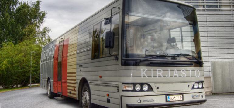 Rauman kirjastoauto