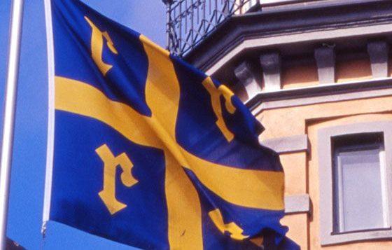 Rauma, lippu, kaupungintalo