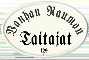 Vanhan Rauman taitajat -logo