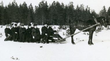 Rekiretki laskiaisena, Rauman museo