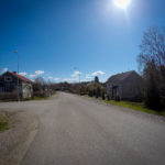 Sampaanalan asuinalueen tie.