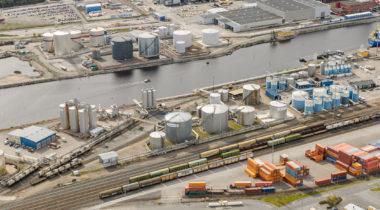 Rauman sataman kemikaalilaituri
