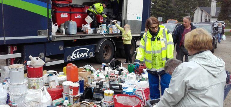 Jätehuoltolaitoksen vaarallisten jätteiden mobiilikeräys