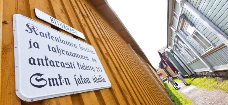 Vanha Rauma, Kitukränn.