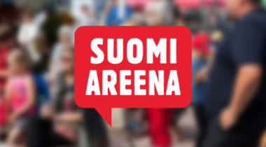 SuomiAreena logolla original