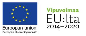 Euroopan Unionin ja Vipuvoimaa EU:lta ohjelman tunnukset.