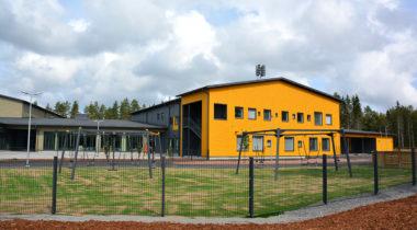 pohjoiskehä koulun keltainen kortteli