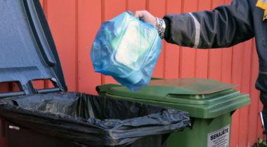 Kuvituskuva: muovikeräys lähikuva